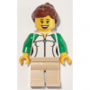 LEGO<sup>®</sup> City - Female Outline Sweatshirt with Zipper