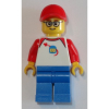 LEGO<sup>®</sup> City - Man - Classic Space Shirt with Red Sleeves