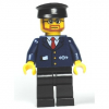 LEGO<sup>®</sup> City - Dark Blue Suit with Train Logo