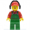 LEGO<sup>®</sup> City - Overalls Farmer Green