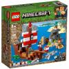 LEGO® Minecraft 21152 -  Dobrodružství pirátské lodi - Cena : 1040,- Kč s dph