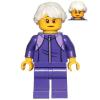 LEGO<sup>®</sup> City - Grandmother - Dark Purple Tracksuit