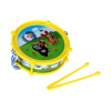 Krtek/Krtečkův bubínek plast 20cm + 2 paličky - 2 barvy - Cena : 154,- Kč s dph