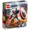 LEGO® Super Heroes 76168 - Captain America v obrněném robotu - Cena : 229,- Kč s dph