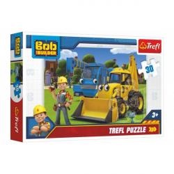 Obrázek Puzzle Bořek Stavitel 27x20cm 30 dílků v krabici 21x14x4cm