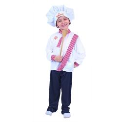 Obrázek Dětský kostým kuchař (M)