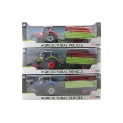 Obrázek Traktor se dřevem
