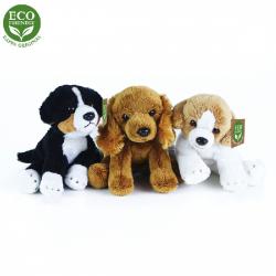 Obrázek Plyšoví psi sedící 14 cm ECO-FRIENDLY