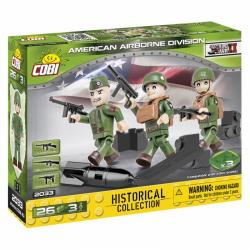 Obrázek Cobi 2033  3 figurky s doplňky Americká letecká divize