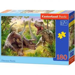 Obrázek Puzzle Castorland 180 dílků - Dinosauří bitva