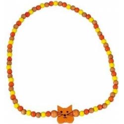 Obrázek Dětský náhrdelník kočka