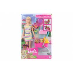 Obrázek Barbie Panenka na vycházce s pejskem GHV92