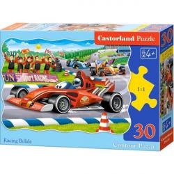 Obrázek Puzzle Castorland 30 dílků - Závodní formule