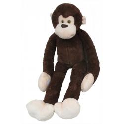 Obrázek Plyšová Opice Dlouhá Ruka 100 Cm, Tmavě Hnědá