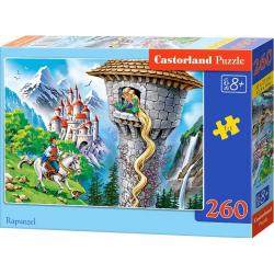 Obrázek Puzzle 260 dílků - Princezna s dlouhými vlasy