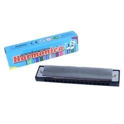 Obrázek Harmonika kovová s papírovou krabičkou