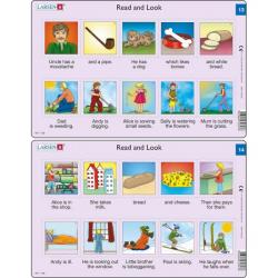 Obrázek Puzzle Angličtina - krátký text RA7 10 dílků