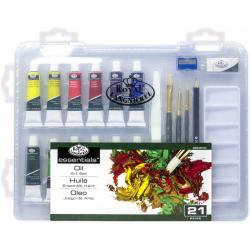 Obrázek ROYAL and LANGNICKEL Olejové barvy v plastovém boxu