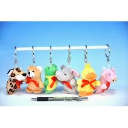 Obrázek Přívěšek na klíče zvířátko plyš - 12 druhů