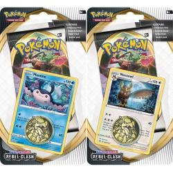 Obrázek Pokémon TCG: SWSH02 Rebel Clash Checklane Blister