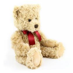 Obrázek plyšový medvěd retro sedící 28 cm