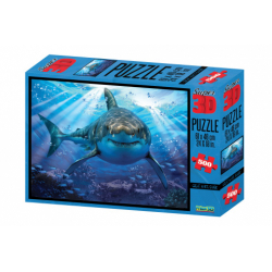 Obrázek Puzzle Žralok 500 dílků 3D