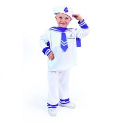 Obrázek Dětský kostým námořník (M)