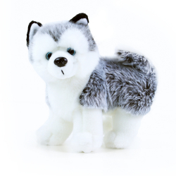 Obrázek plyšový pes husky 22 cm
