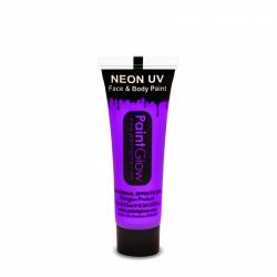 Obrázek Barvy na obličej UV neon 13 ml - fialová (UV purple)