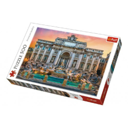 Obrázek Puzzle Fontanna di Trevi, Rím 500 dielikov 48x34cm