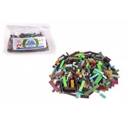Obrázek Stavebnice Cheva Taška Plná Kostek plast Army sada 2 kg v plastové tašce