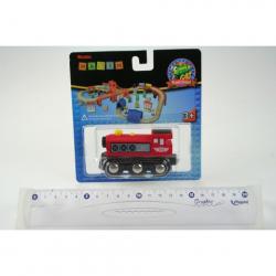 Obrázek Maxim Parní lokomotiva - červená