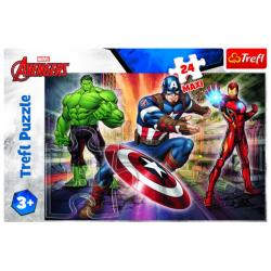 Obrázek Puzzle MAXI - Disney Marvel The Avengers 24 dílků
