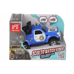 Obrázek Auto terénní policie natahovacíí