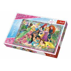 Obrázek Puzzle Princezny 260 dílků 60x40cm