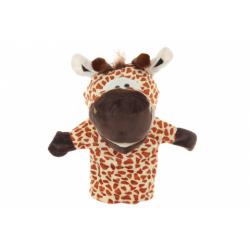 Obrázek Plyš maňásek žirafa