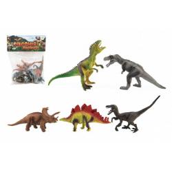 Obrázek Dinosaurus plast 15-18cm 5ks v sáčku