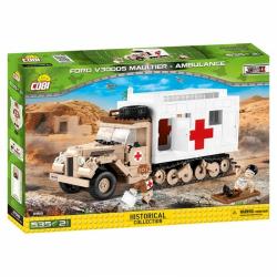 Obrázek Cobi 2518  II WW Ford V3000S Maultier Ambulance