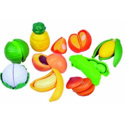 Obrázek Krájecí ovoce a zelenina plast 28ks na blistru