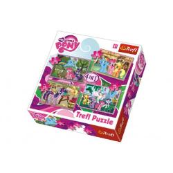 Obrázek Puzzle 4v1 My Little Pony