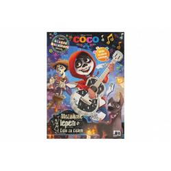 Obrázek Mozaikové lepení Coco/Disney s mozaikovými samolepkami 20x28cm