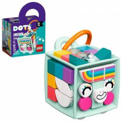 Obrázek LEGO<sup><small>®</small></sup> DOTS 41940 - Ozdoba na tašku – jednorožec