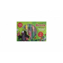 Obrázek Oboustranné voskovky Krtek 8ks v krabičce 18x12cm 12ks v boxu