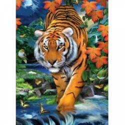 Obrázek Malování podle čísel - Tygr