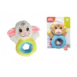 Obrázek Plyšové chrastítko zvířátko 15 cm 2 druhy - 2 druhy