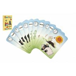 Obrázek Černý Petr Krtek 4-  společenská hra - karty v papírové krabičce 6x9cm