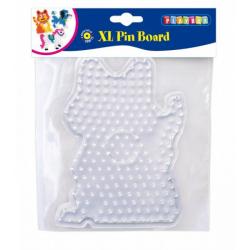 Obrázek Doska pre zažehľovací korálky - mačka