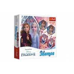 Obrázek Pexeso papírové Ledové království II/Frozen II společenská hra 36 kusů v krabici 20x20x5cm