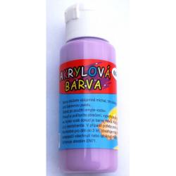 Obrázek Akrylová barva 60ml - světle fialová (pale violet)