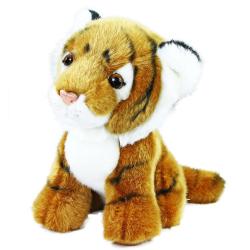 Obrázek plyšový tygr sedící, 18 cm